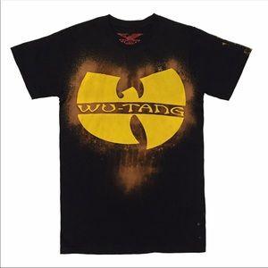Hand bleached wutang C.R.E.A.M t-shirt